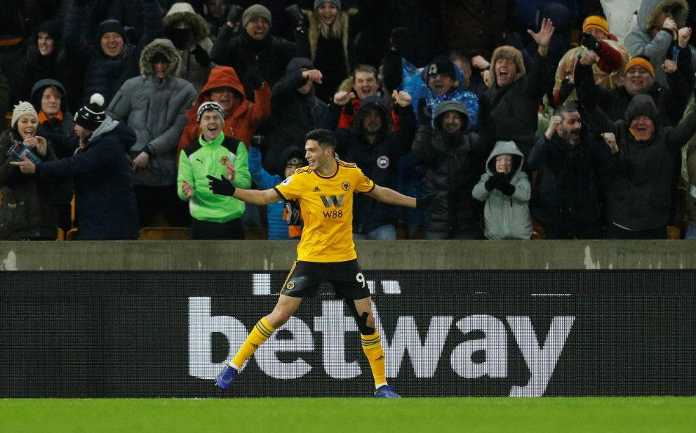 Wolverhampton vence a Bournemouth con gol de Raúl Jiménez