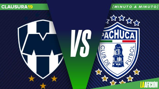 Monterrey vs Pachuca en vivo, Clausura 2019, Liga MX: Minuto a Minuto