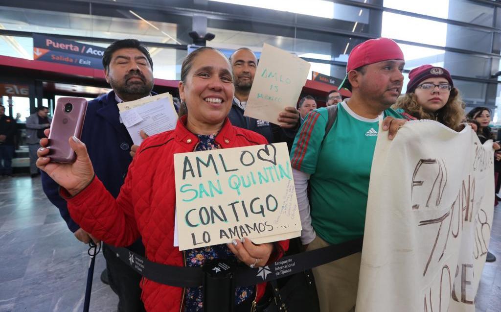 Tijuanenses Con protestas y peticiona AMLO con protestas y peticiones