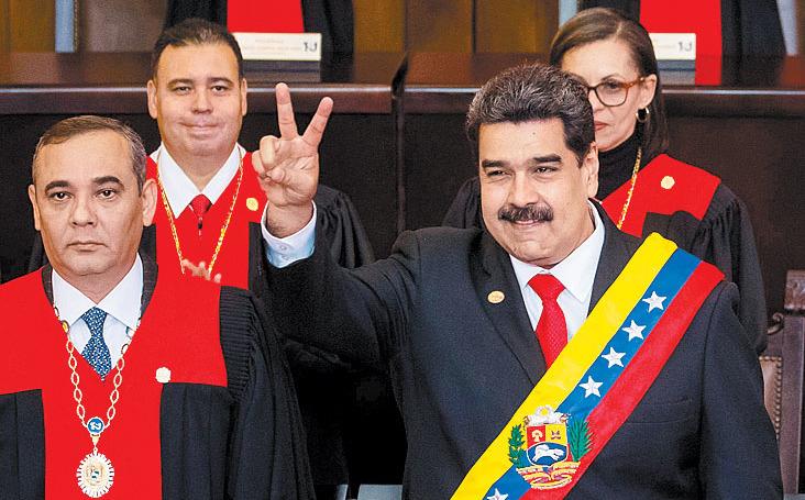 El ejército, columna vertebral para sostener a Maduro