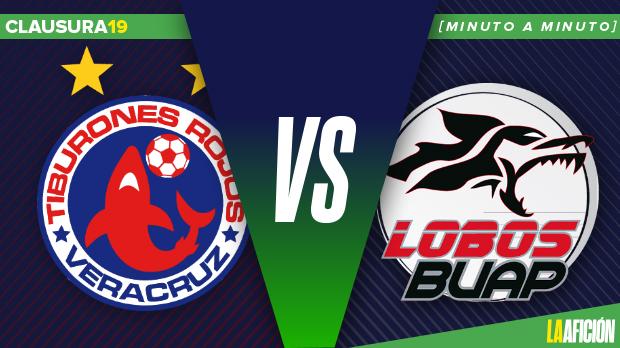 Veracruz vs Lobos BUAP: Minuto a minuto