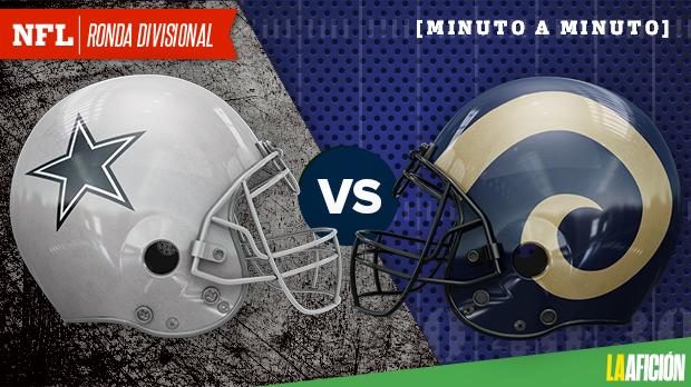 Dallas Cowboys vs Los Angeles Rams, Playoffs NFL 2018: EN VIVO