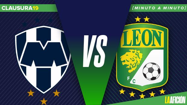 Monterrey vs León; Clausura 2019: GOLES