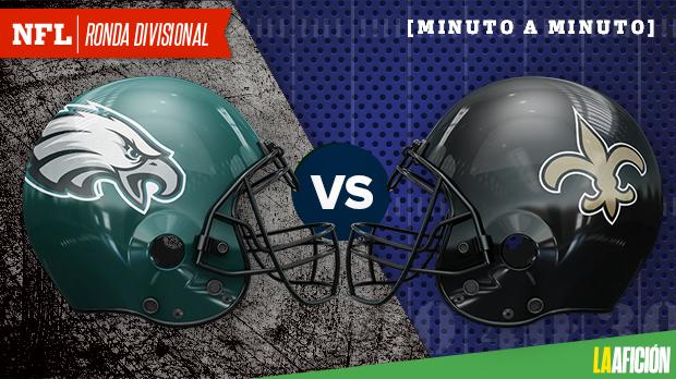 Philadelphia Eagles vs New Orleans Saints, Playoffs NFL 2018: EN VIVO