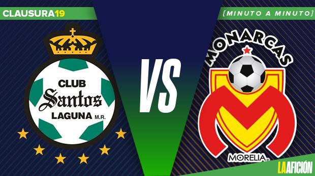Santos vs Monarcas, Liga MX (1-0): RESUMEN Y RESULTADO