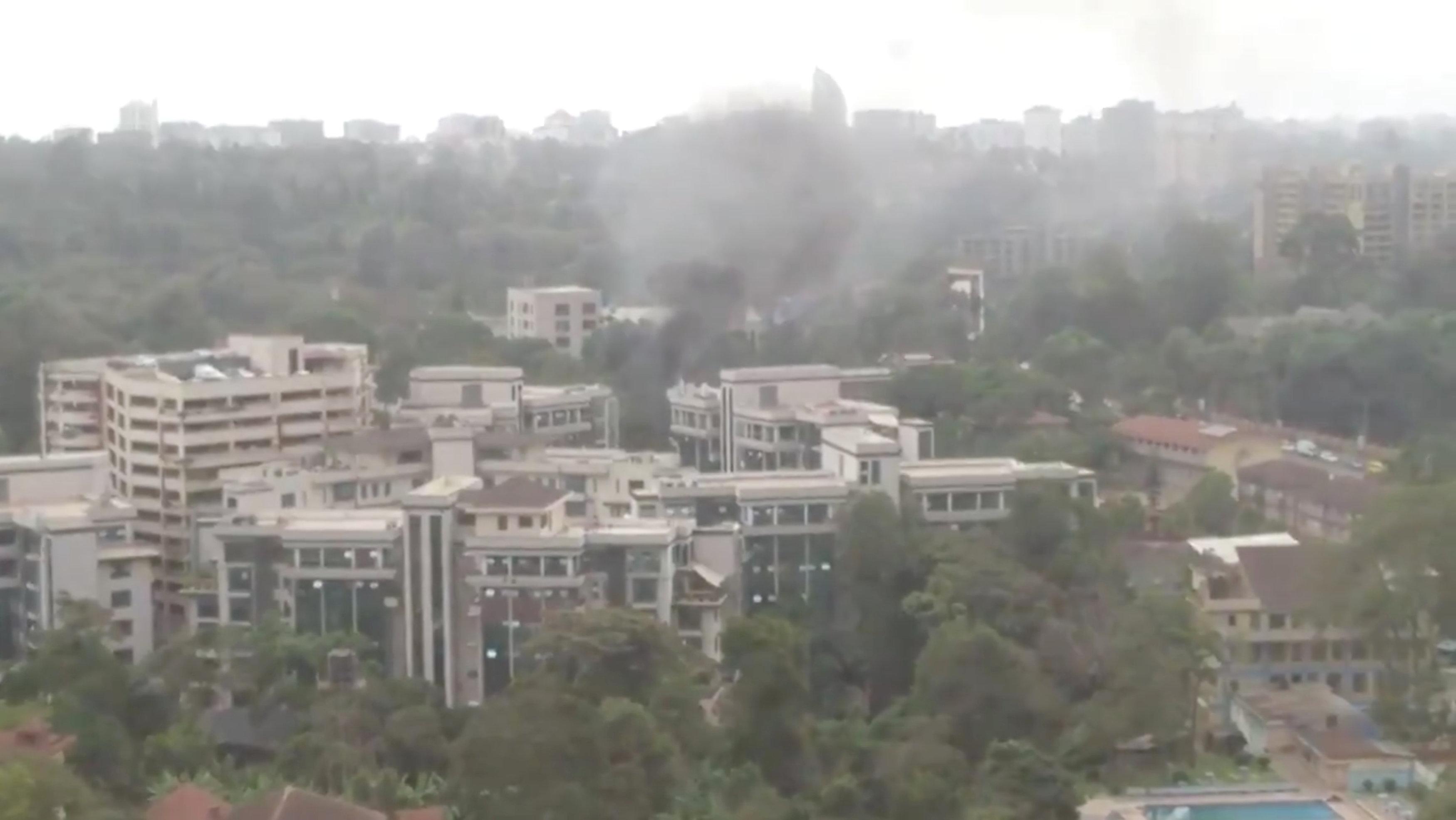 El hotel Dusit D2 se encuentra en el barrio de Westlands, uno de los barrios más lujosos de la capital keniana (Reuters)