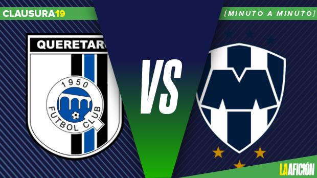 Querétaro vs Monterrey: GOLES