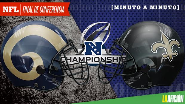 Los Angeles Rams vs New Orleans Saints, Playoffs NFL 2018