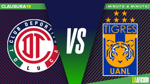 0046cc1b96d Toluca vs Tigres en vivo  Liga MX