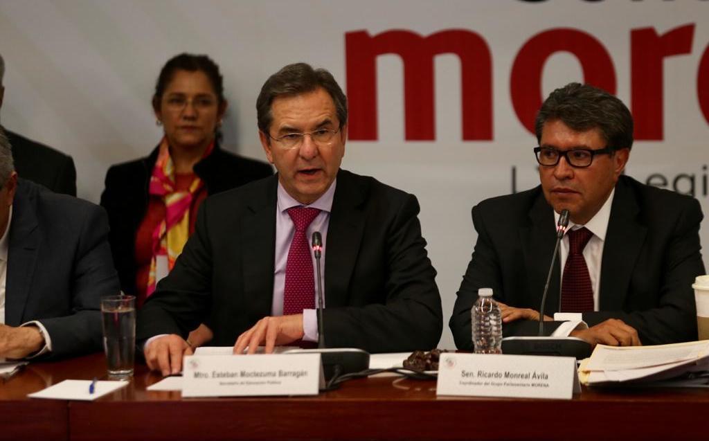Esteban Moctezuma pide a senadores abrogar reforma educativa