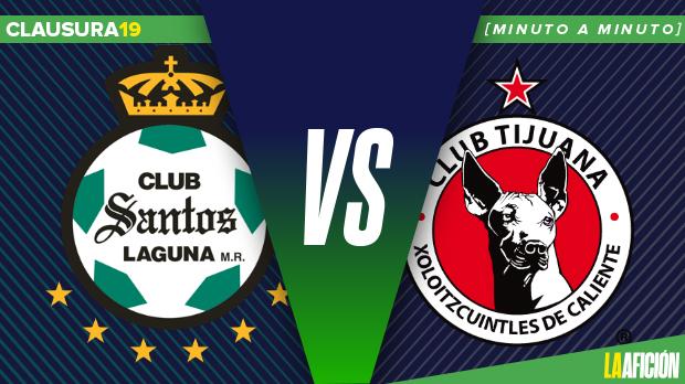 Santos vs Xolos (1-1): GOLES Y RESULTADO