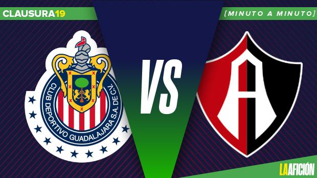 Chivas vs Atlas: En vivo y en directo