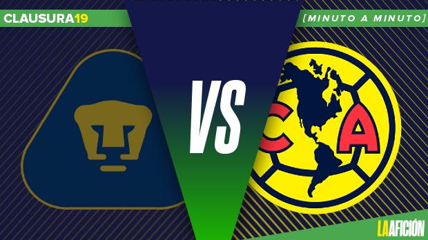 Pumas vs América: GOLES
