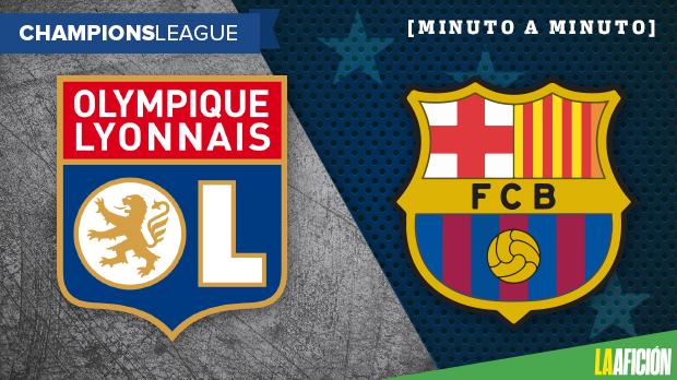 Lyon vs Barcelona (0-0): RESUMEN Y RESULTADO