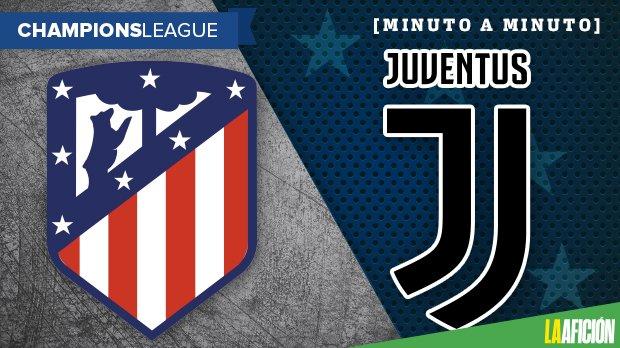 Atlético de Madrid vs Juventus: GOLES