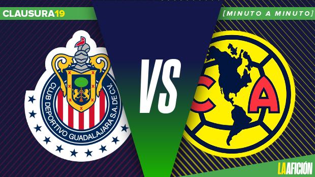 Chivas vs América, Liga MX: GOLES
