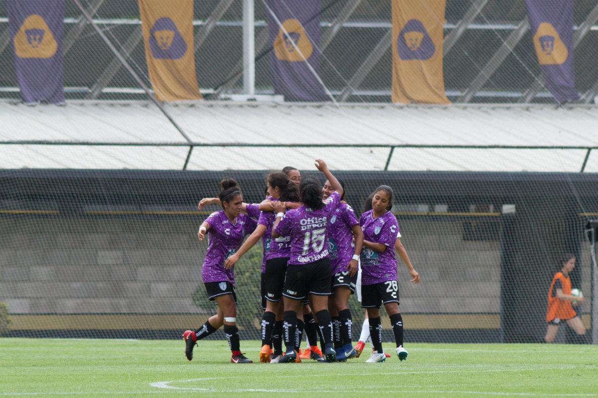Pachuca afianza liderato del grupo 1 tras vencer a Pumas en la Liga MX  Femenil 43ddfd09ed229