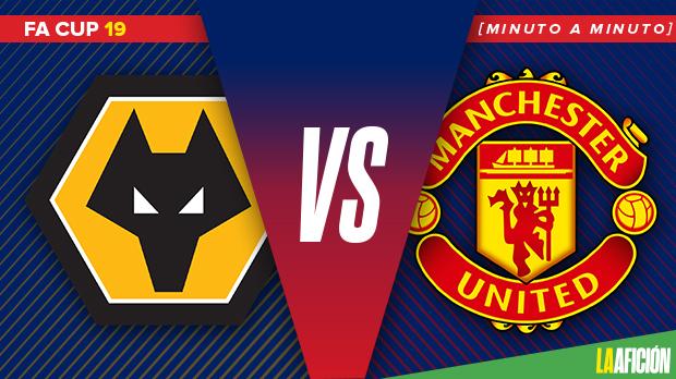 Wolverhampton vs Manchester United, FA Cup (2-1): GOLES Y RESULTADO