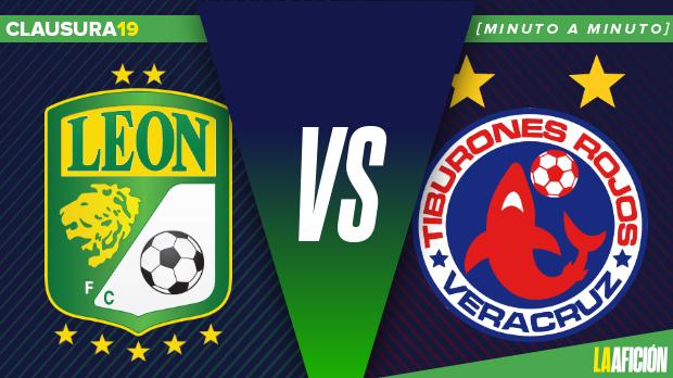 León vs Veracruz, Liga MX (2-0): GOLES Y RESULTADO