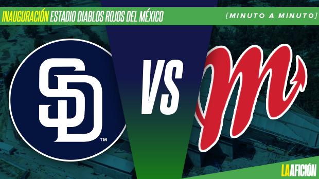 Padres de San Diego vs Diablos Rojos, segundo juego: En vivo y Minuto