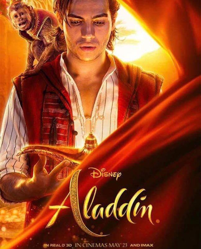 Resultado de imagen de aladdin 2019 posters individuales
