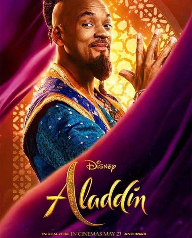 Resultado de imagen de aladdin 2019 posters individual