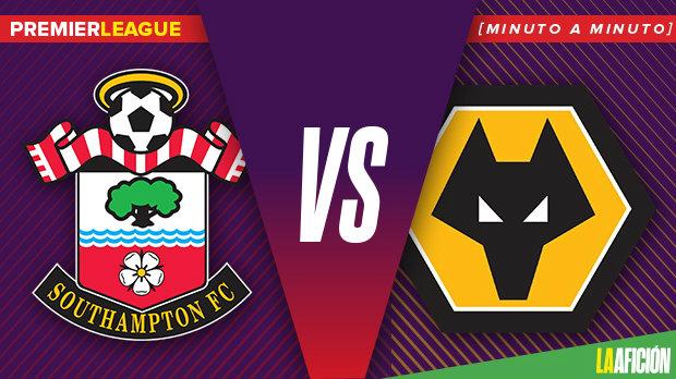 Southampton vs Wolverhampton, Premier League (3-1): GOLES Y RESULTADO