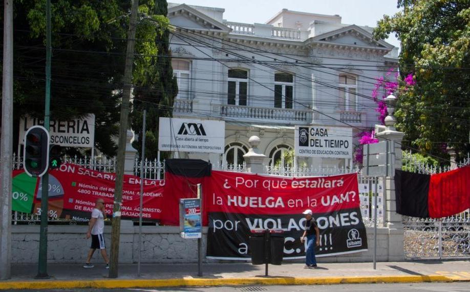 Estudiantes preparan amparo contra huelga en la UAM