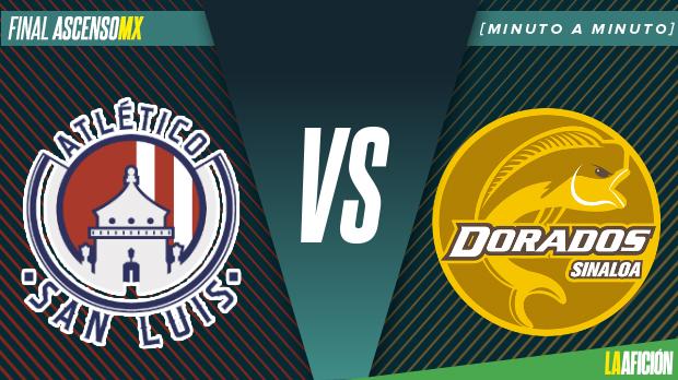 colección de descuento descuento hasta 60% comprar lo mejor San Luis vs Dorados en vivo y online: Final Ascenso MX ...