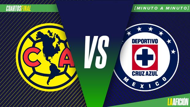 América vs. Cruz Azul en vivo y en directo: Cuartos de Final Ida