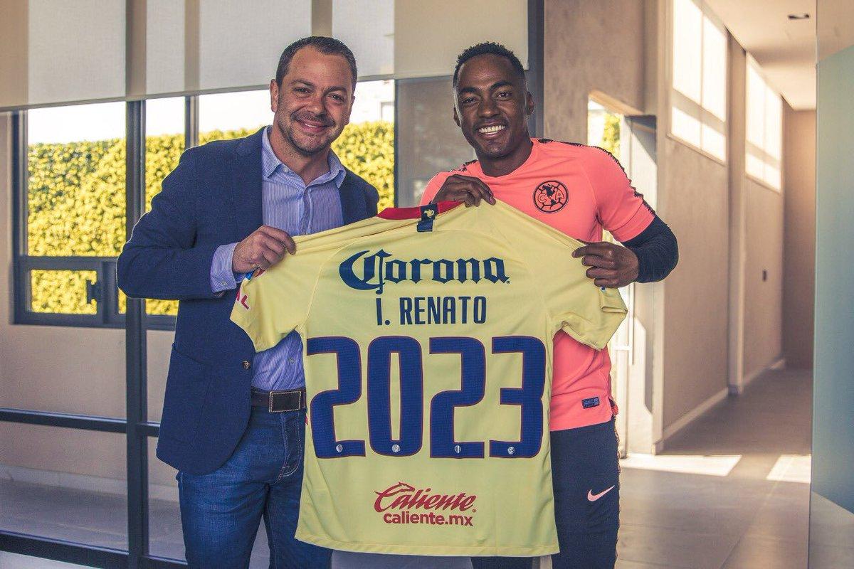América: Renato Ibarra renueva contrato hasta el 2023