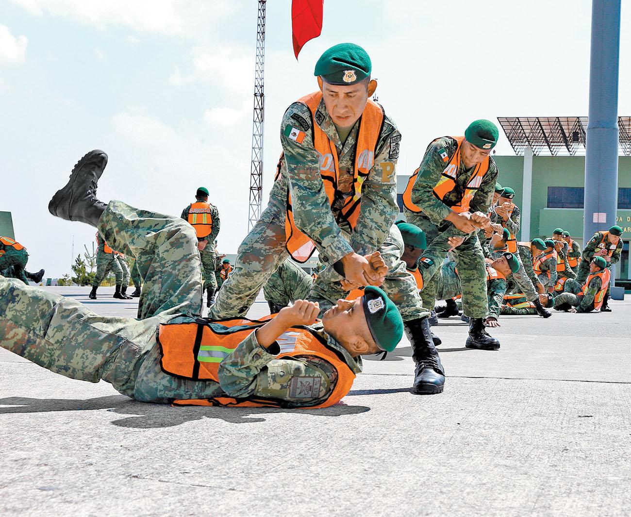 programa de entrenamiento fisico militar
