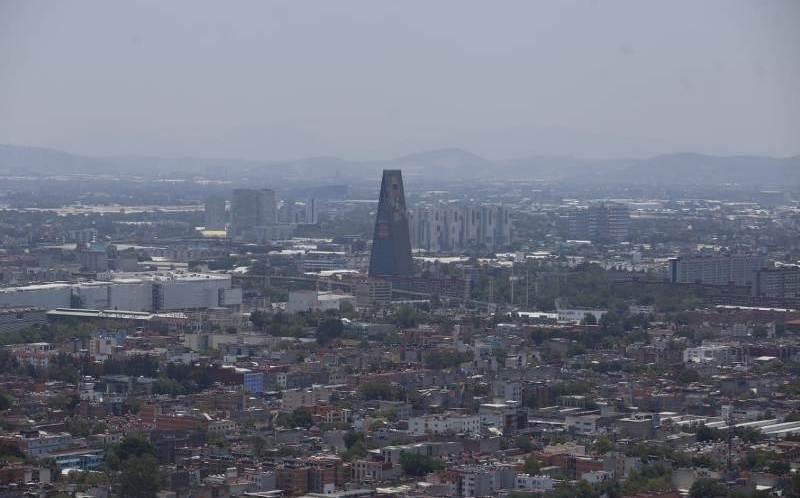 Calidad del aire es regular en el Valle de México