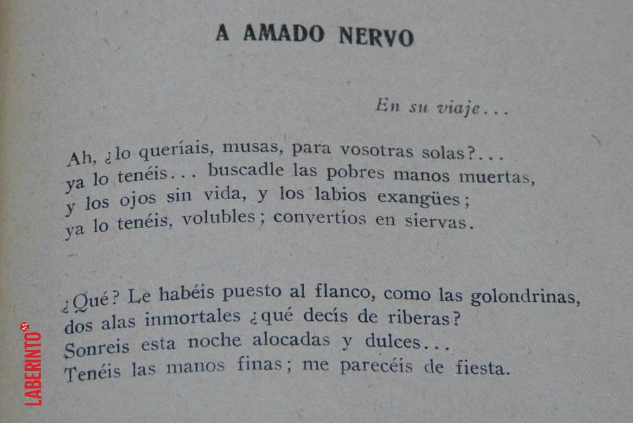 Amado Nervo El Emotivo Poema Que Le Dedicaron Tras Su Muerte