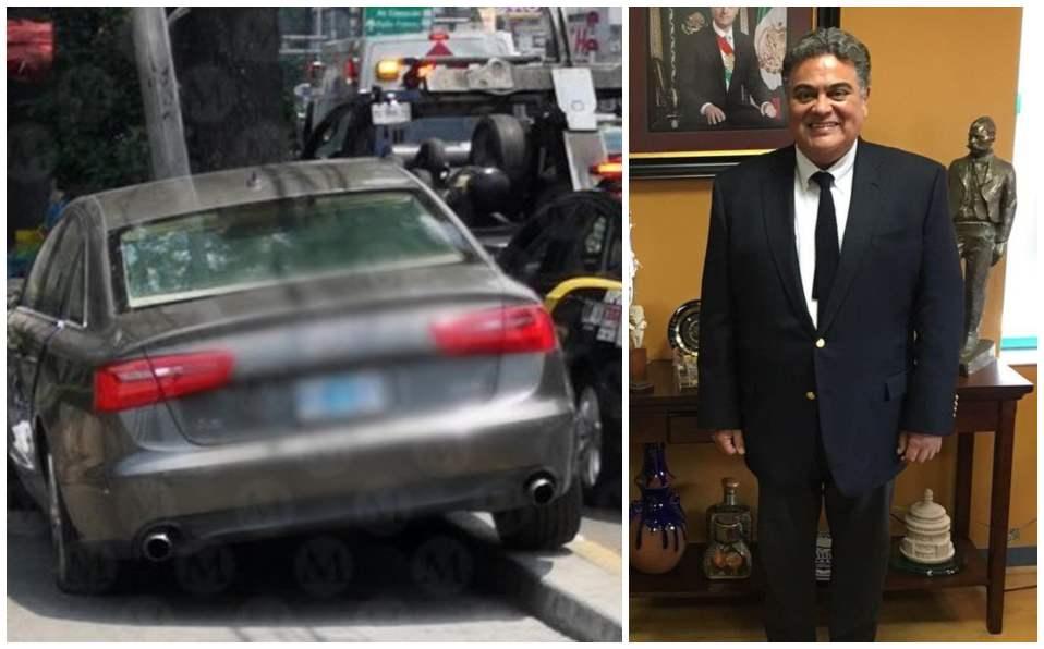 CdMx: Embajador de Guatemala está hospitalizado tras accidente