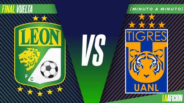 León vs Tigres en vivo y en directo, Clausura 2019: Final vuelta