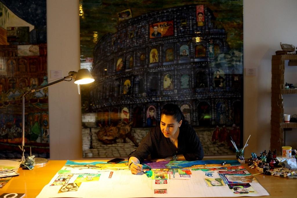 Karla de Lara, la artista vivió Macro Asilo en Roma
