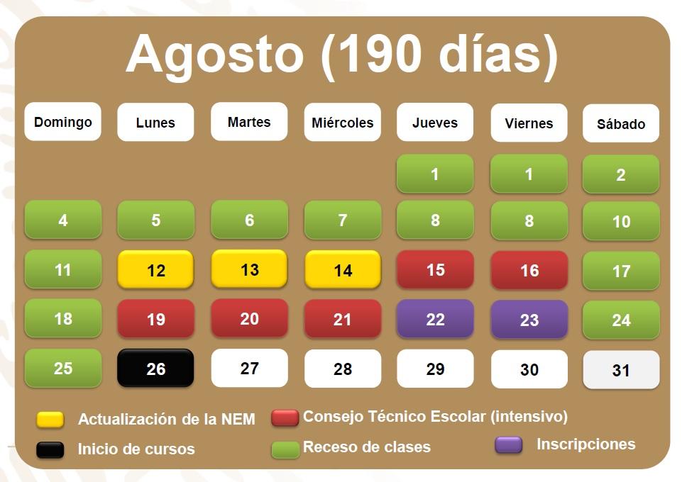 Calendario Escolar 2020 Sep Oficial.Calendario Escolar 2019 Asi Quedaron Las Vacaciones Y Puentes