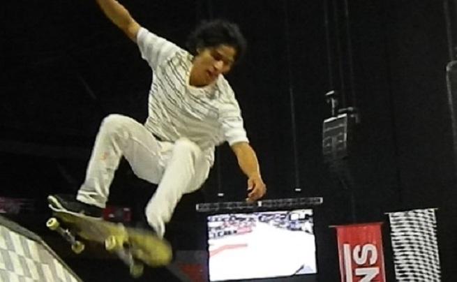 Danny Ruiz dominó el Vans Royal Side Stripe