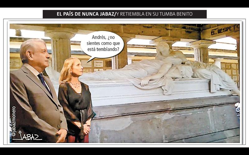 Y retiembla en su tumba Benito - Jabaz