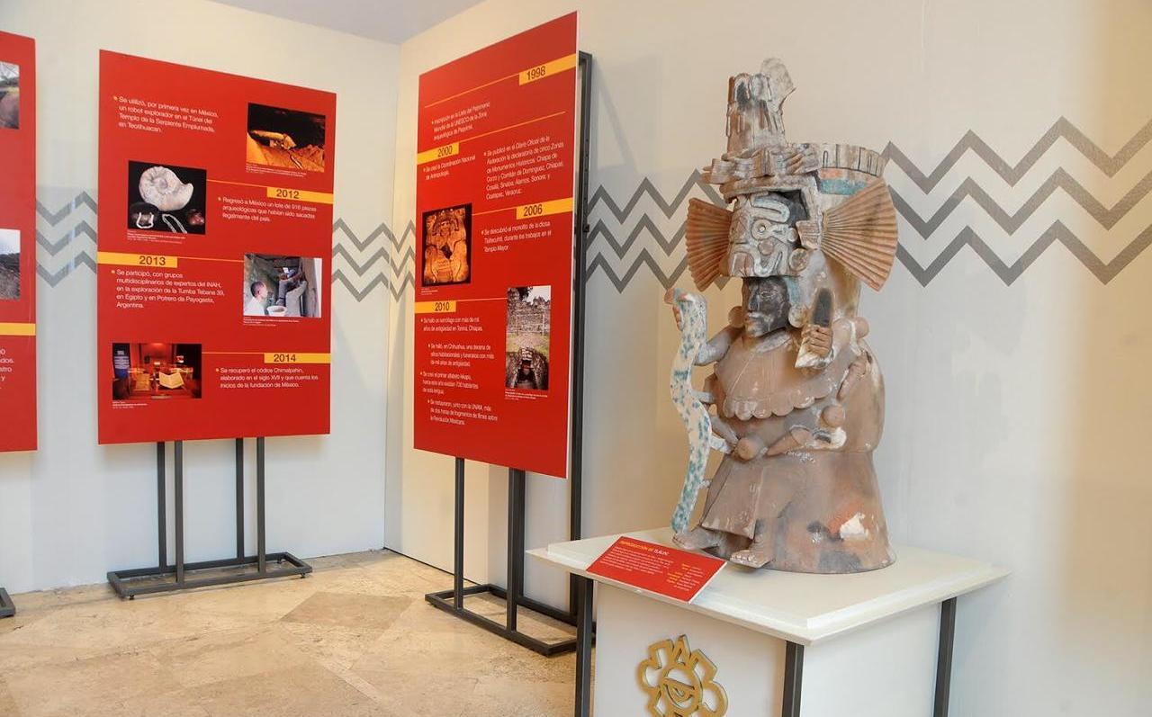 Muestran por primera vez piezas de Cuicuilco en museo de Tlalpan