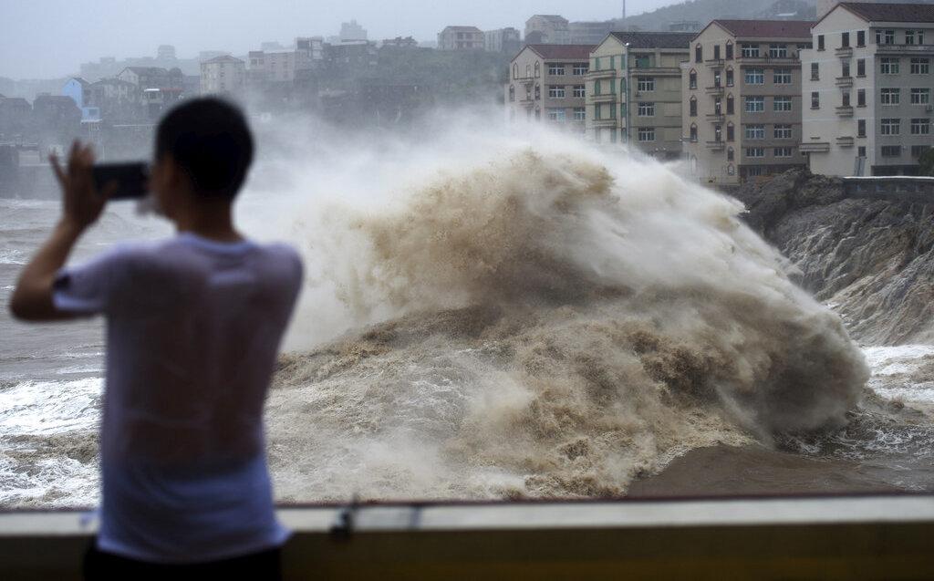 China: tifón Lekima deja 18 muertos y 14 desaparecidos en Shangai