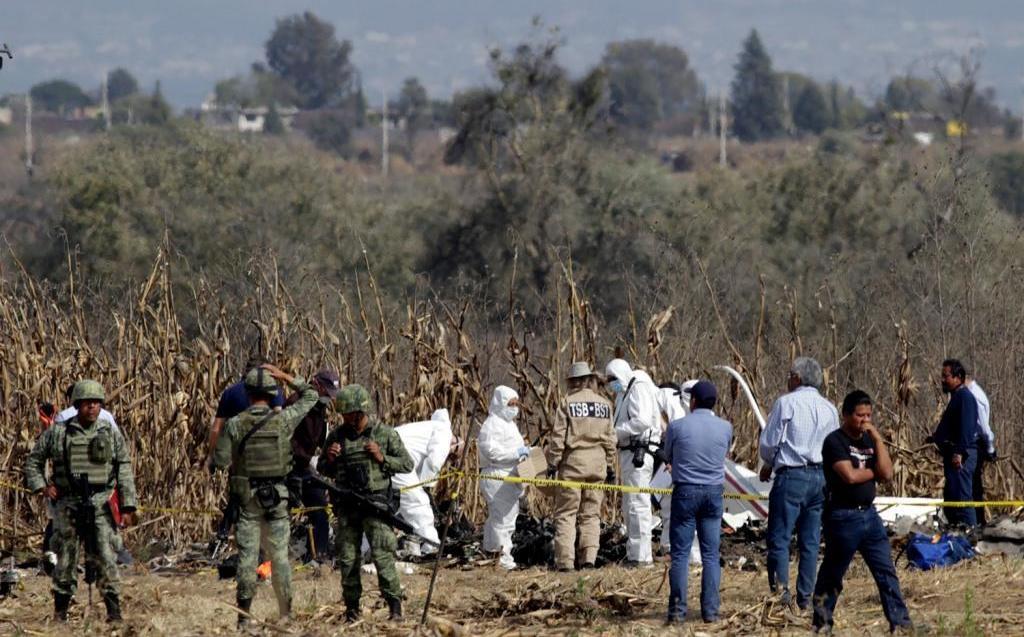 Avances en investigación de accidente de Martha Erika y Moreno Valle