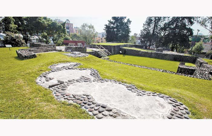 INAH reabre zona arqueológica en el barrio de Mixcoac