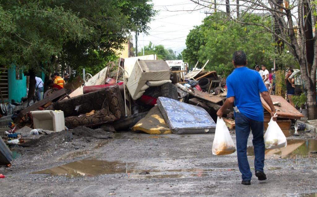Fernand deja daños en Nuevo León y piden a AMLO liberar recursos