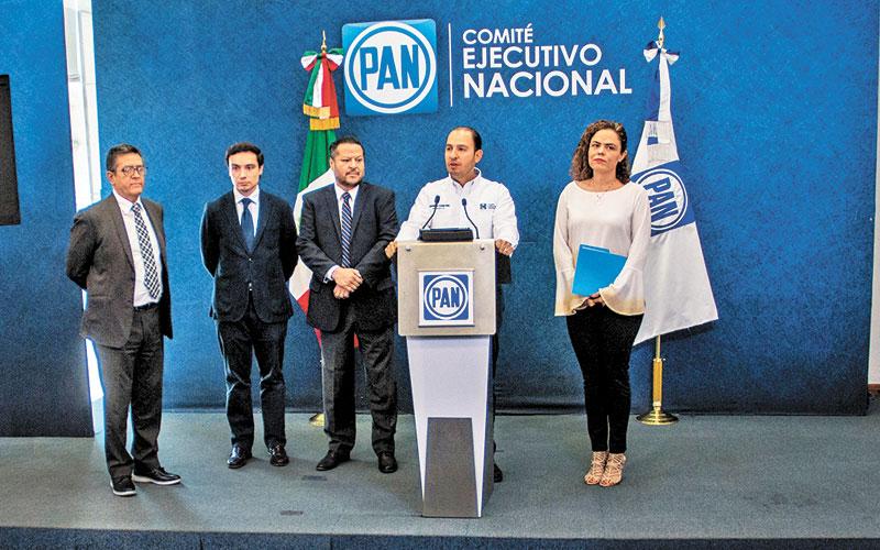 Anaya irá al festejo del PAN; Calderón, no