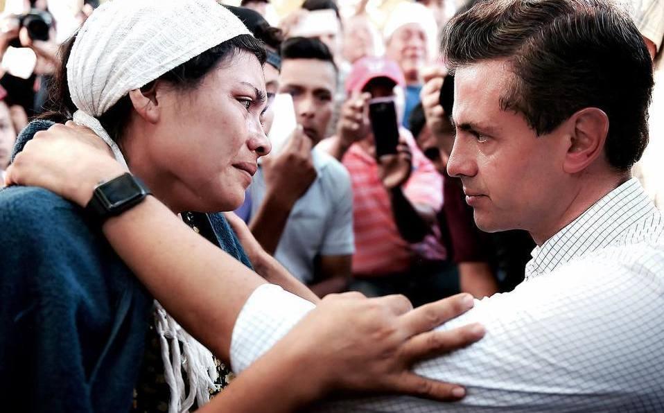 19S: Peña Nieto supo del sismo cuando estaba por aterrizar en Oaxaca