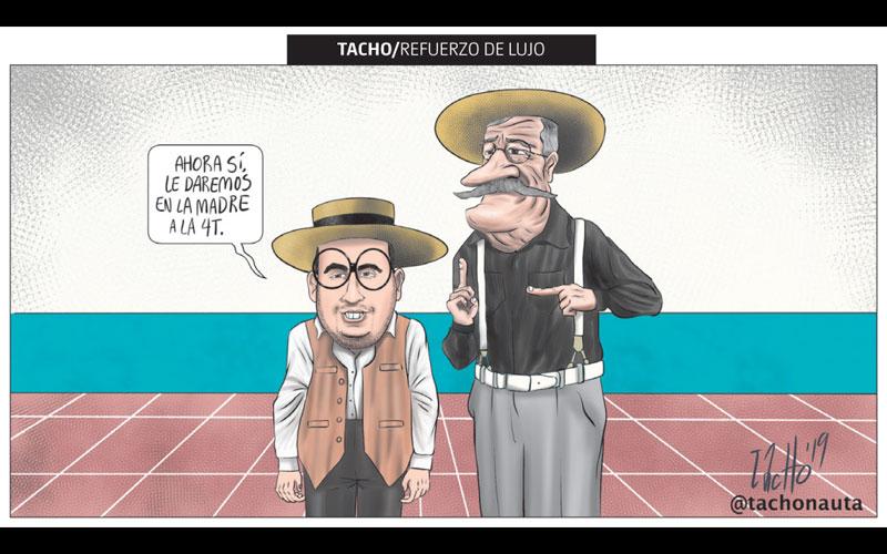 Refuerzo de lujo - Tachonauta