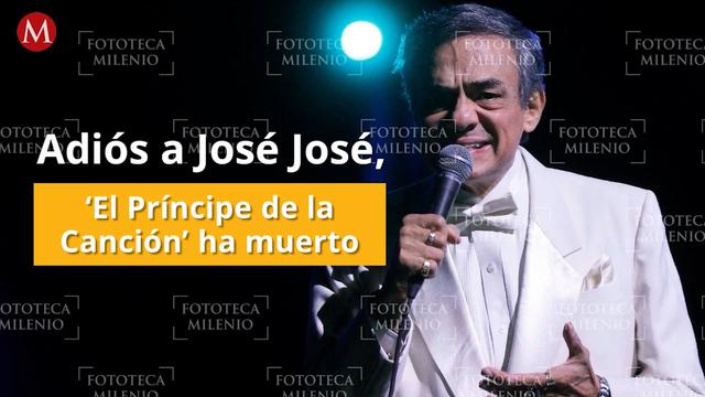 José José: UNAM y la Secretaría de Cultura envían condolencias