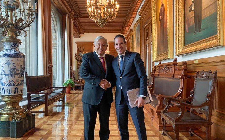 AMLO se reúne con gobernador de Querétaro